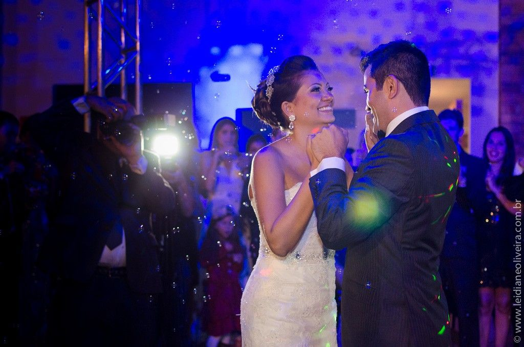 Fotografia de casamento em Belo Horizonte - Primeira dança do casal