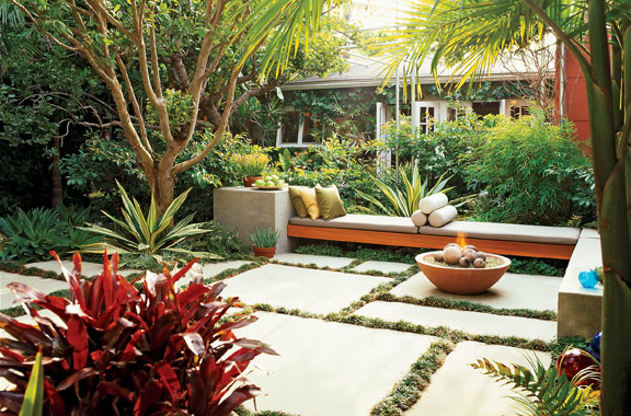 Ideas For Fire Pits For Year Round Coziness In Your Yard Tropical Landscaping Outdoor Gardens Backyard