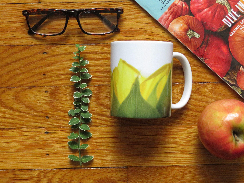 Ceramic sunflower mug etsy mugs tea lovers gift gift tea