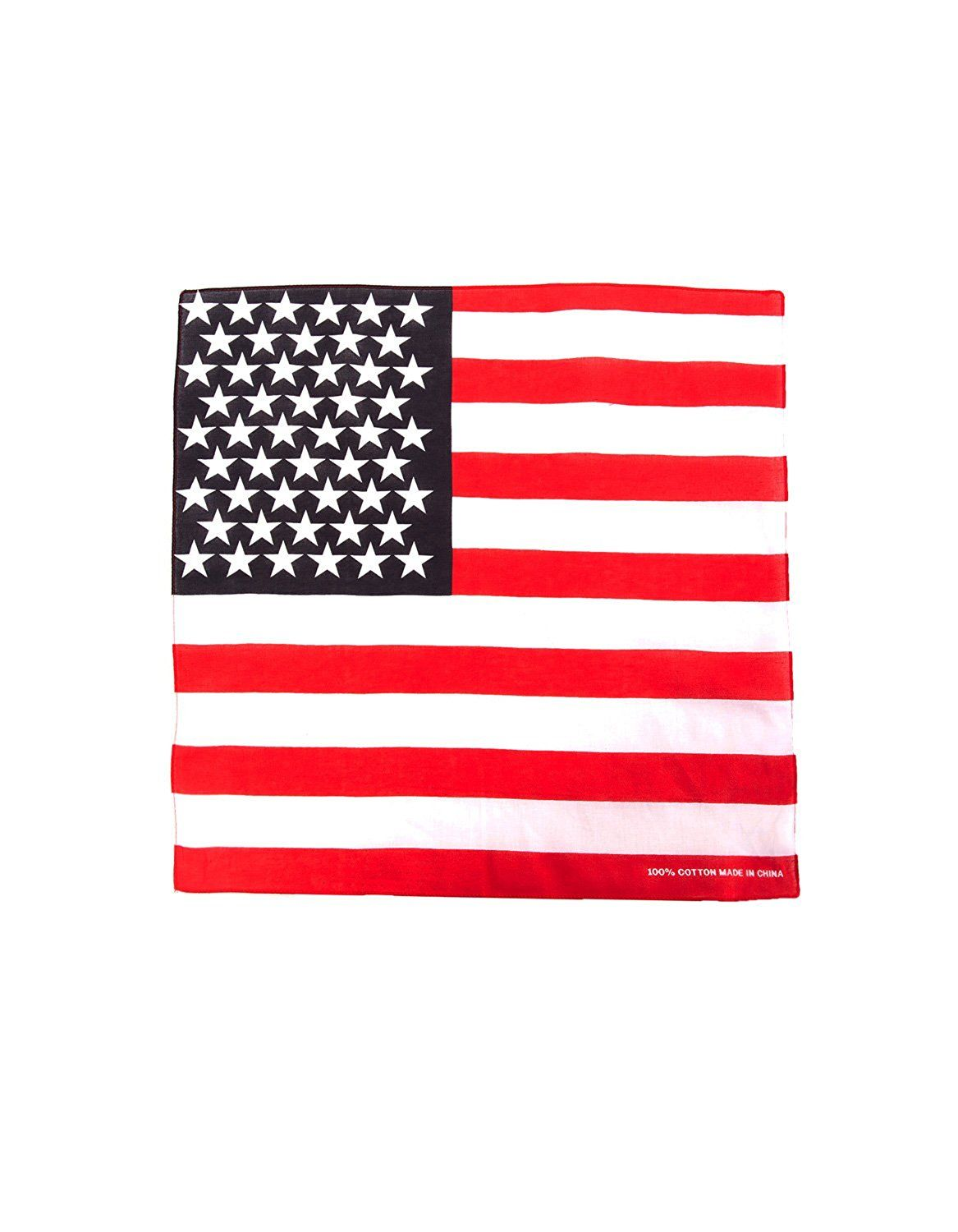 USA Flag Designed Bandana 100% Cotton ** You can find out more ...