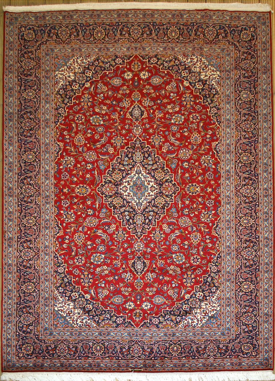 Kashan rug with kork wool Rugs on carpet, Carpet runner