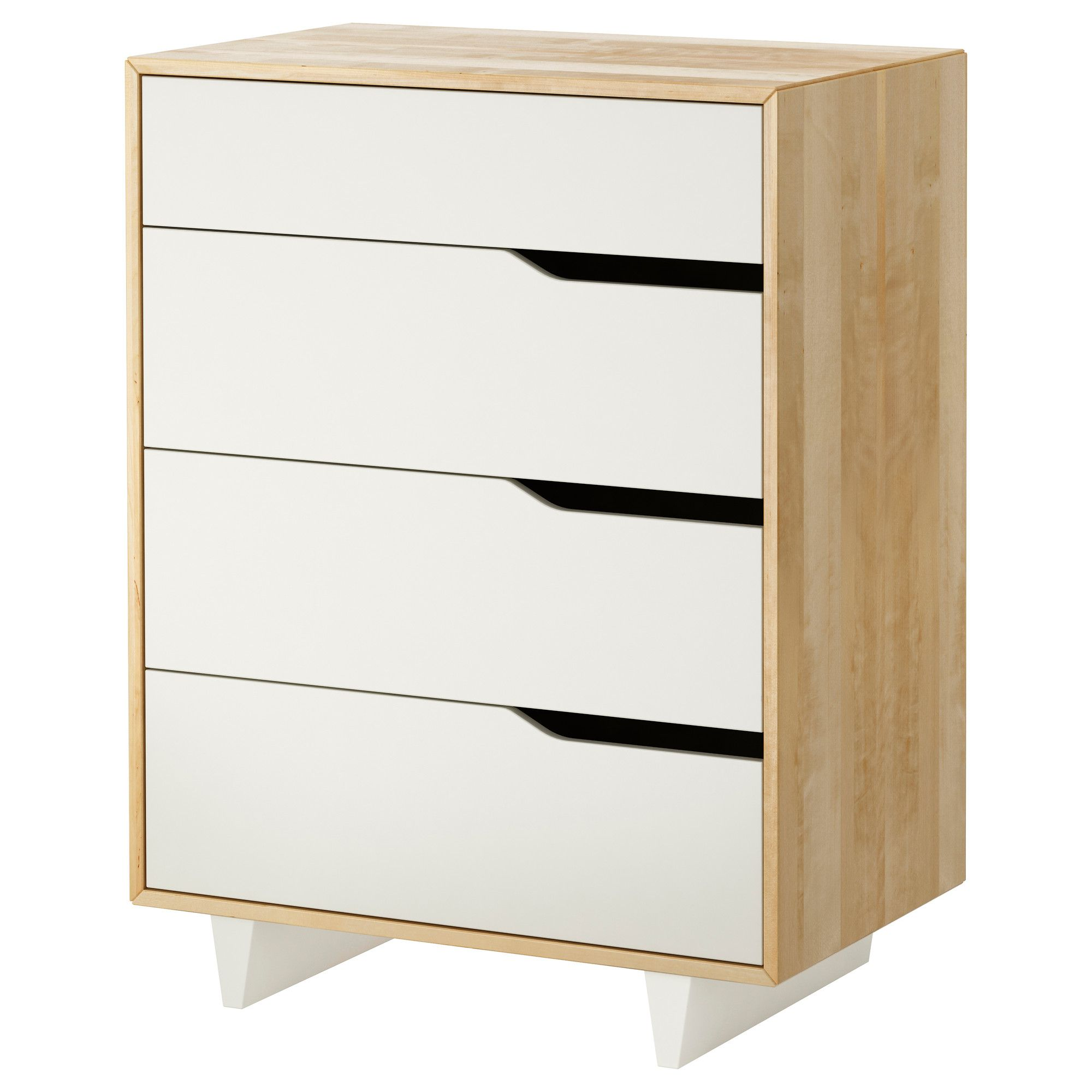 Ikea Commode Blanche Mandal 4 Drawer Chest Ikea Homelife In 2019 Ikea Bedroom
