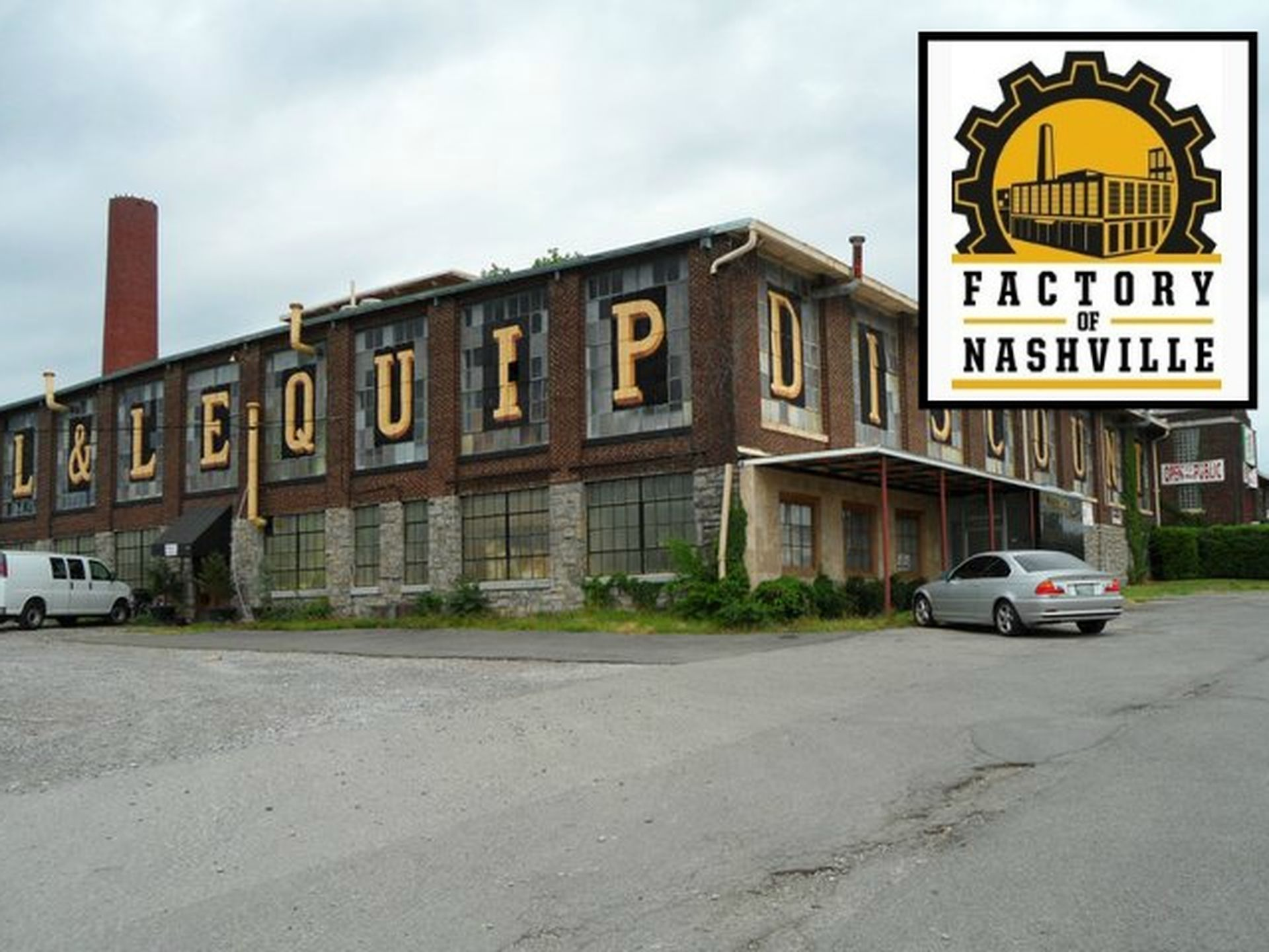 """Future """"Factory of Nashville"""" restaurants, shops and office space."""