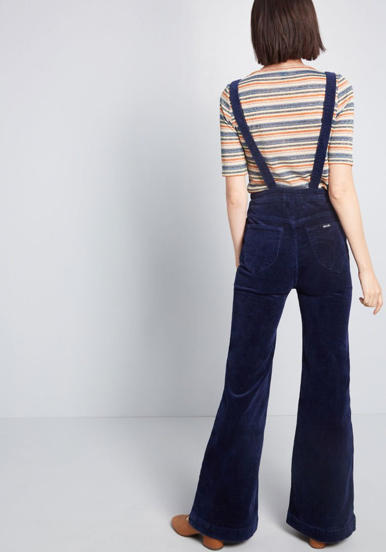 f1f3e9fffce2 Bell-Bottom Boldness Corduroy Jumpsuit in 31 - Flare Pant Long by Rolla s  from ModCloth