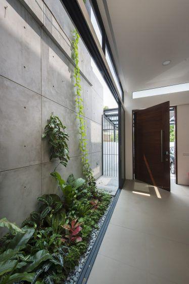 Diseño de casa pequeña de dos pisos, solución para mejorar la