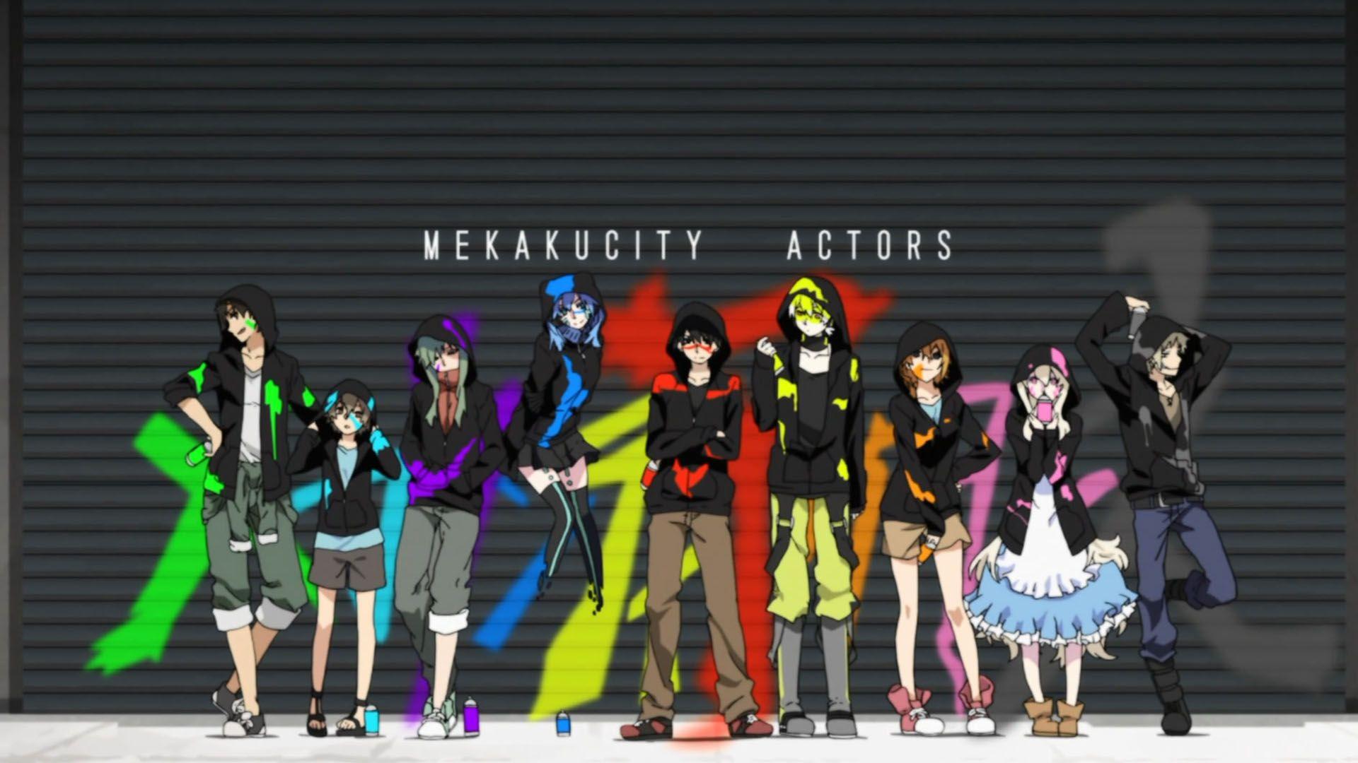 Mekakucity Actors Kagerou Project Actors Anime