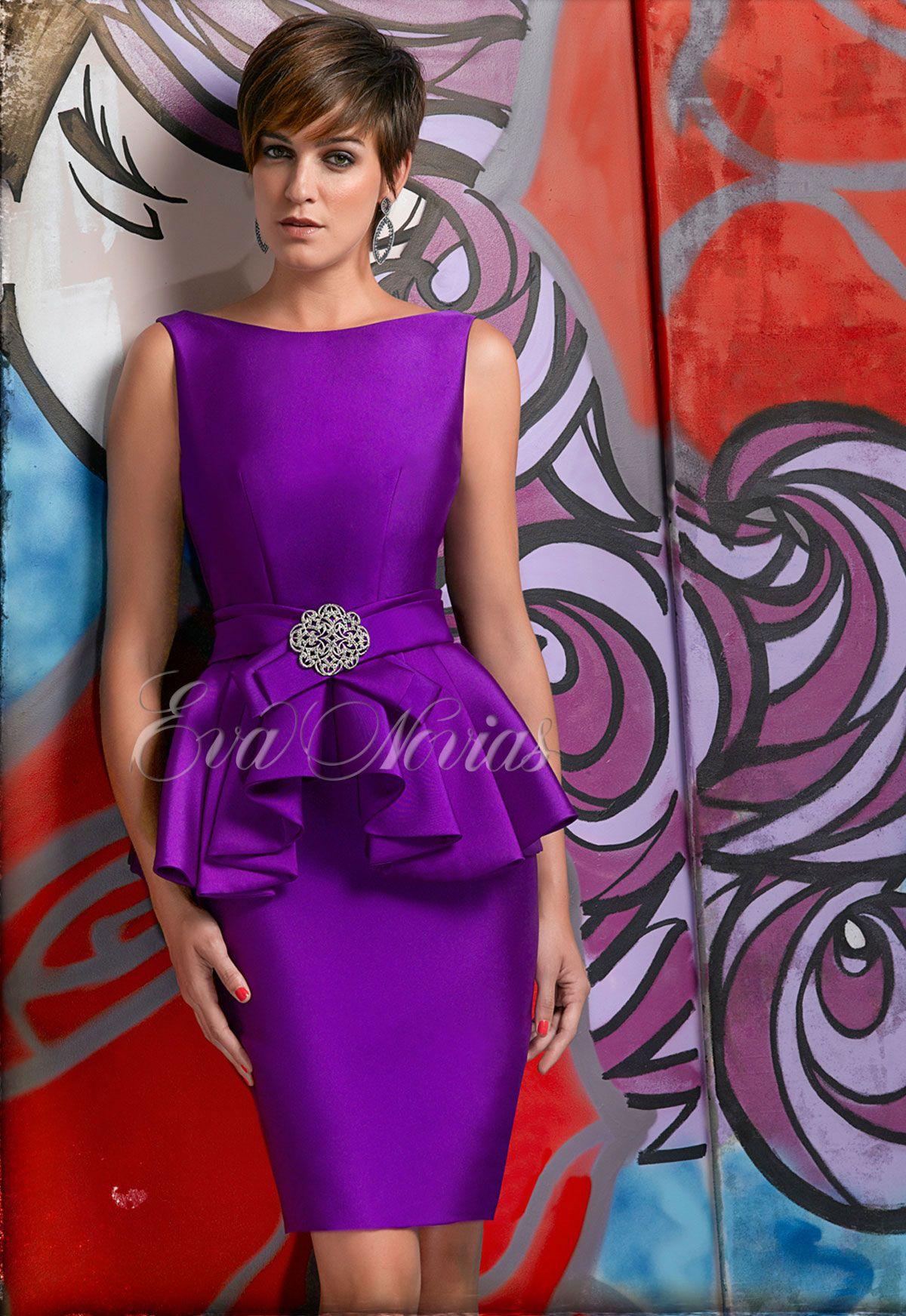 Vestido de fiesta Nacho Bueno 2016 Modelo 5357 en Eva Novias Madrid ...