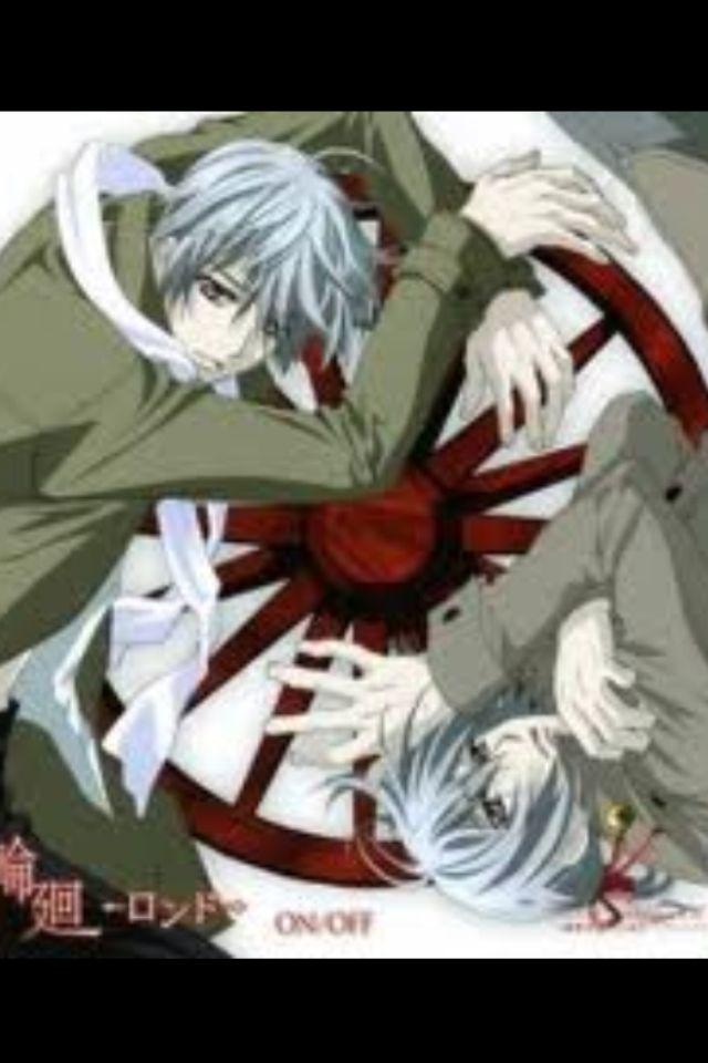 Zero And Ichiru Vampire Knight Anime Kiryu