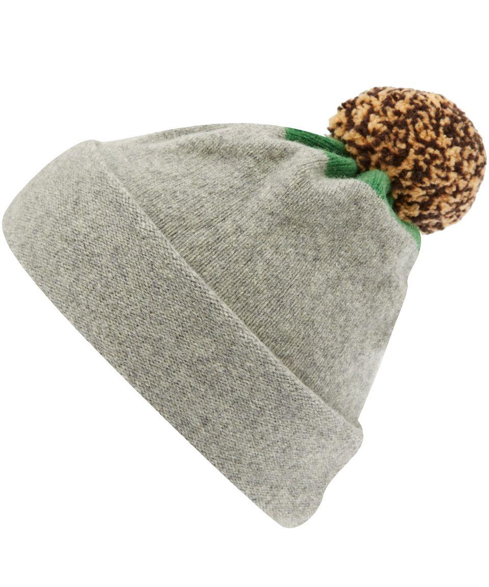 Jo Gordon Knit Pom Pom Winter Hat