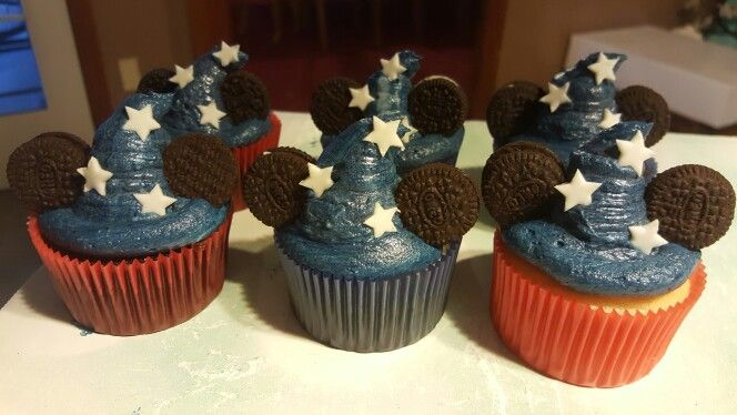 Mickie mouse cupcakes