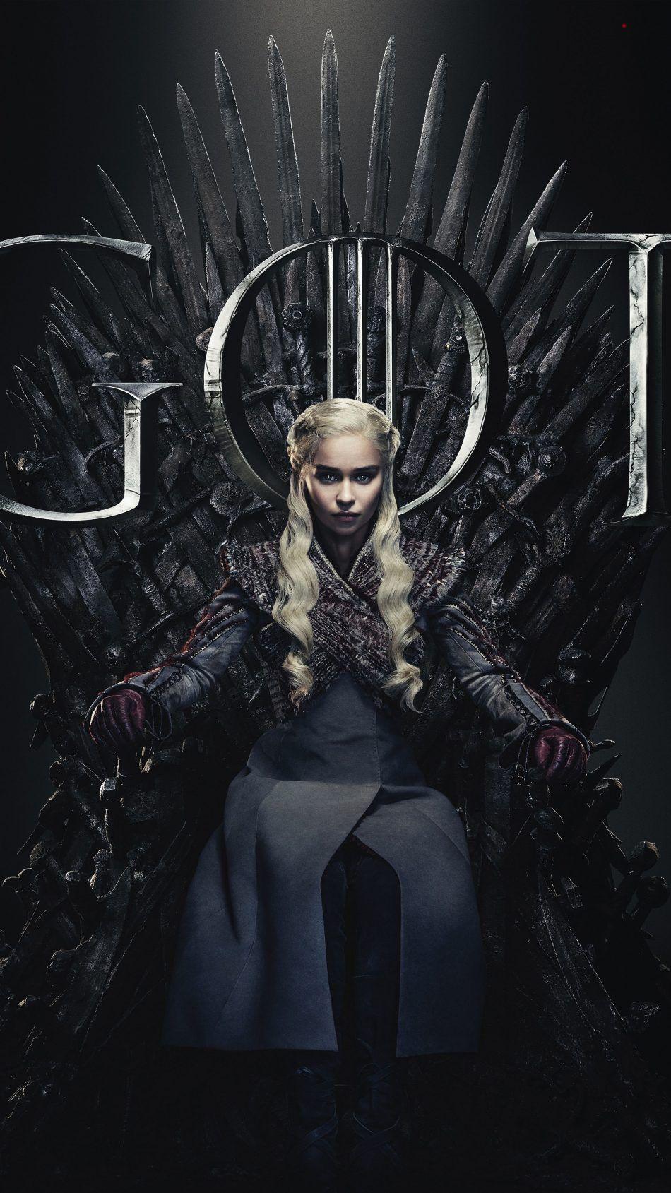 Daenerys Targaryen Game Of Thrones Season 8 Game Of Thrones Poster De Game Of Thrones Capas Para Twitter