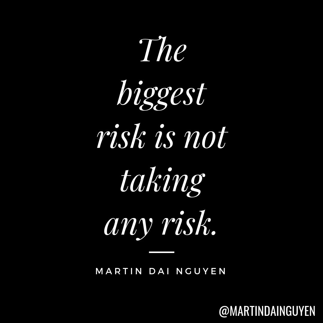 Mdn S Quote Of The Day Risk Quotes Taking Risks Quotes Words Of Encouragement