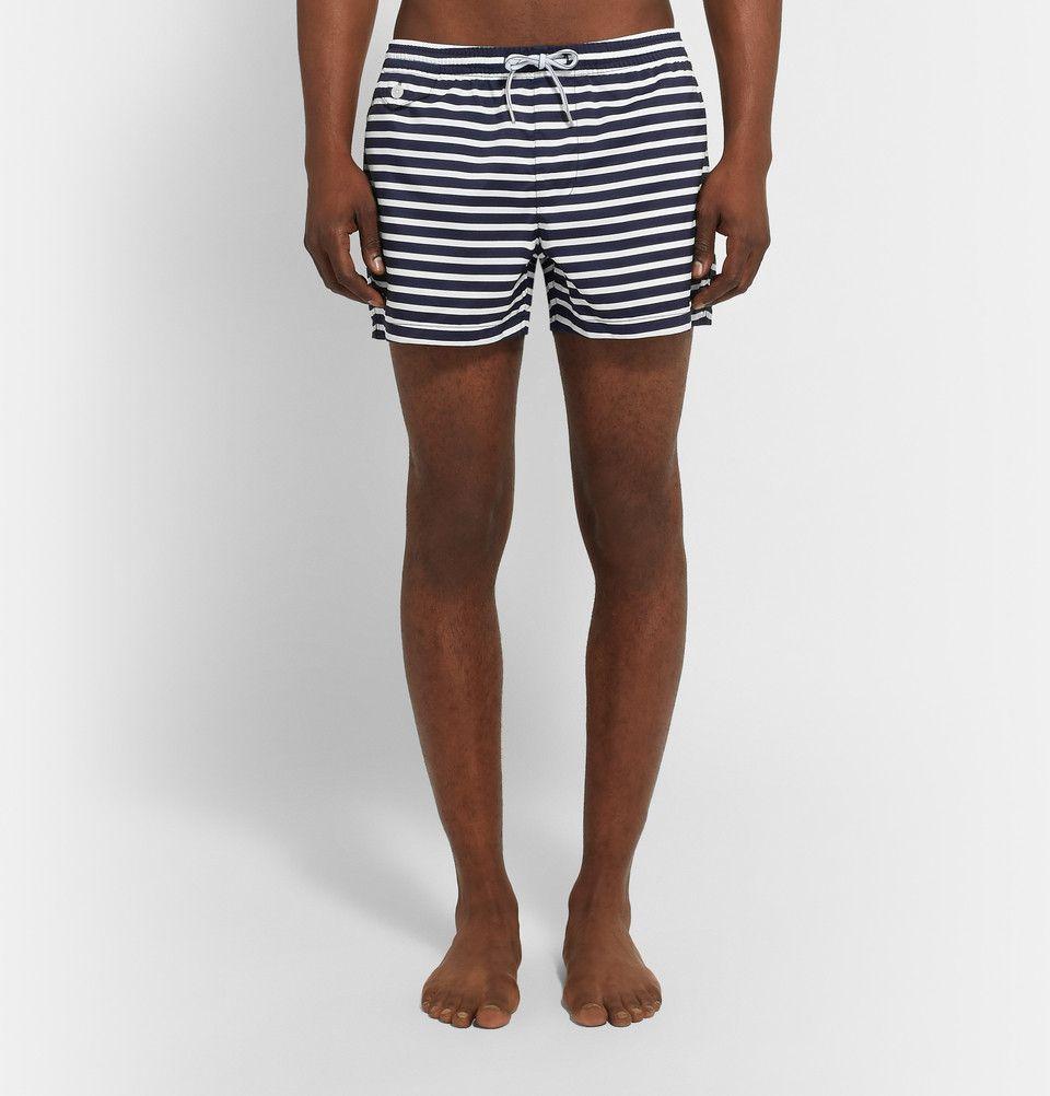 8148c9a1606f0e Club Monaco - Arlen Short-Length Striped Swim Shorts | MR PORTER ...