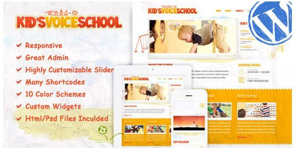 15+ Best Baby and Kids WordPress Themes | 35 Useful and Popular ...