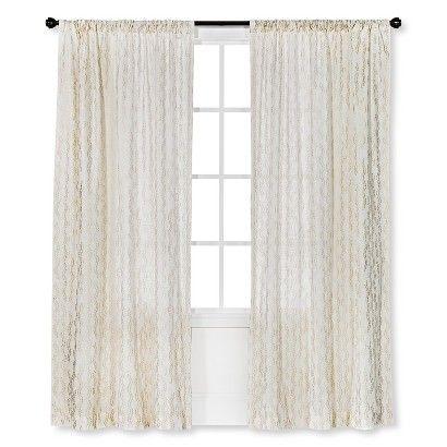 Nate Berkus Embroidered Curtain Panel