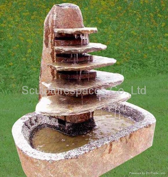 Diy water features diy stone fountains pictures home for Build outdoor rock water fountains