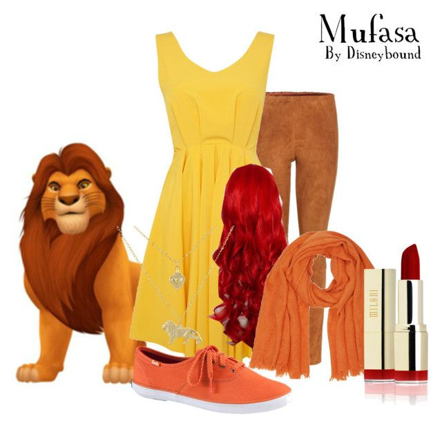 """""""Mufasa"""" by disneybound1923 ❤ liked on Polyvore featuring STOULS, Louche, Keds, M&Co and 1928"""