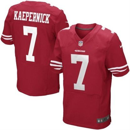 a5795e2fb3c Nike Colin Kaepernick San Francisco 49ers Authentic Elite Team Color Jersey