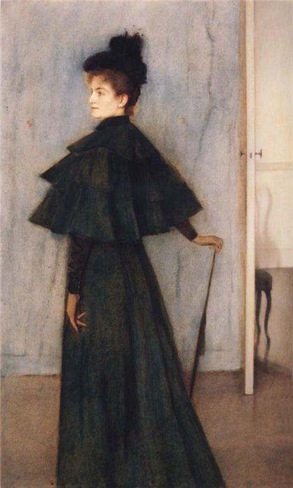 Portrait of Mrs Botte,1896