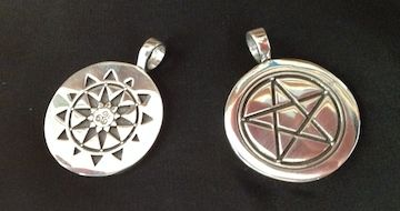 Fundraising special sterling silver limited edition temple of fundraising special sterling silver limited edition temple of witchcraft pendants from deva designs aloadofball Choice Image