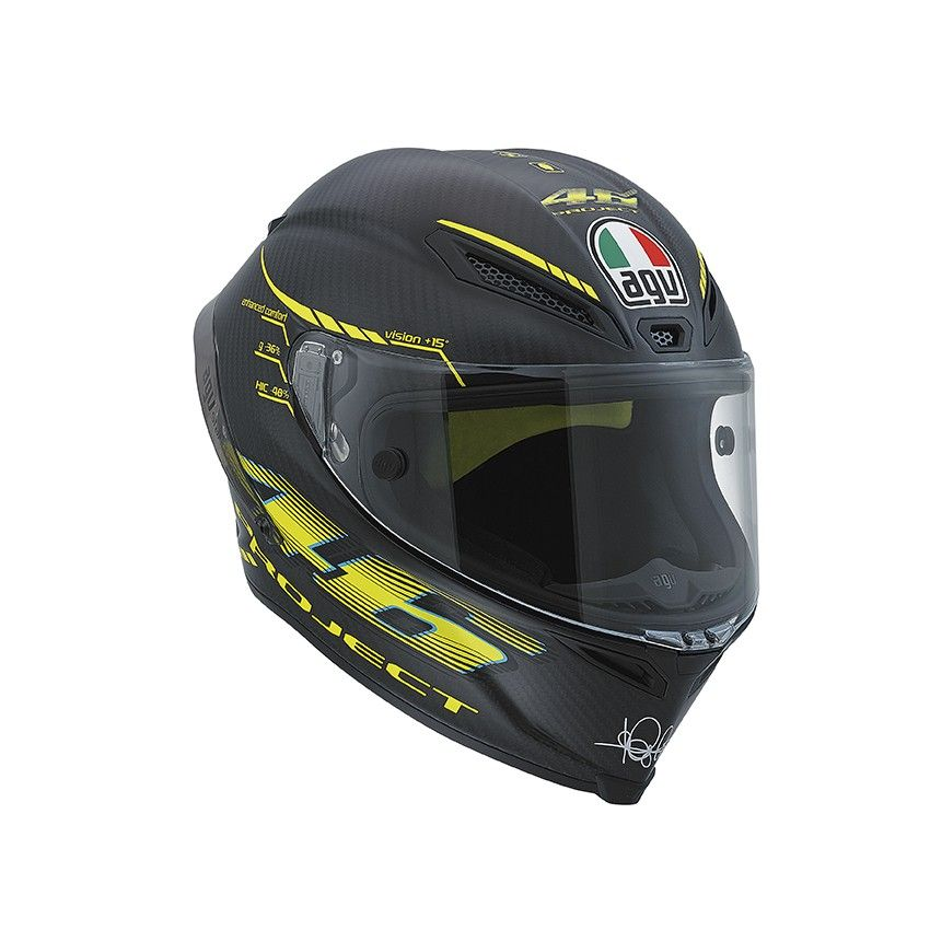 AGV Pista GP Project 46 Full Face Carbon Fiber Motorcycle
