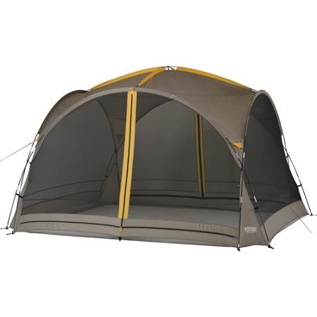 Wenzel Gray 2 Door 12 X 12 Sun Valley Screen House With Mesh Walls And Rainfly Walmart Com House Tent Screen House Tent