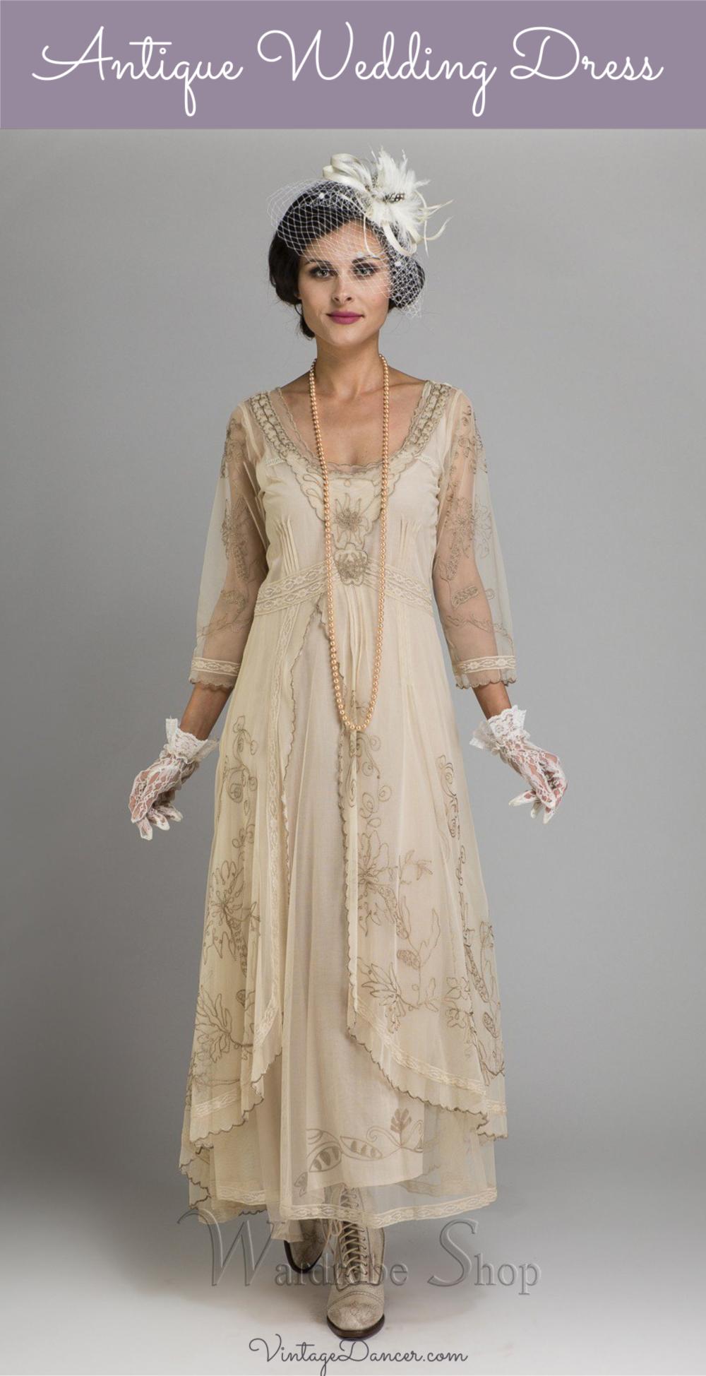 Pin on Wedding Vintage Dresses