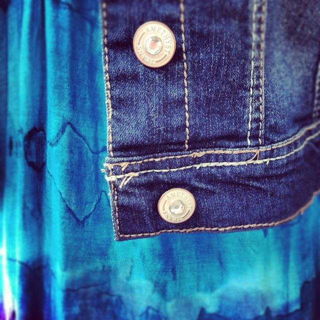 Jean Jacket and Dress. Perfect for summer!