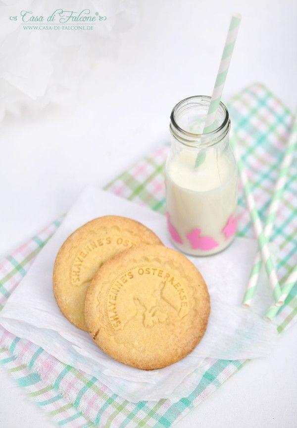 Osterkekse {veganes Rezept} I Keksstempel I cookie stamp I - geschenk aus der küche