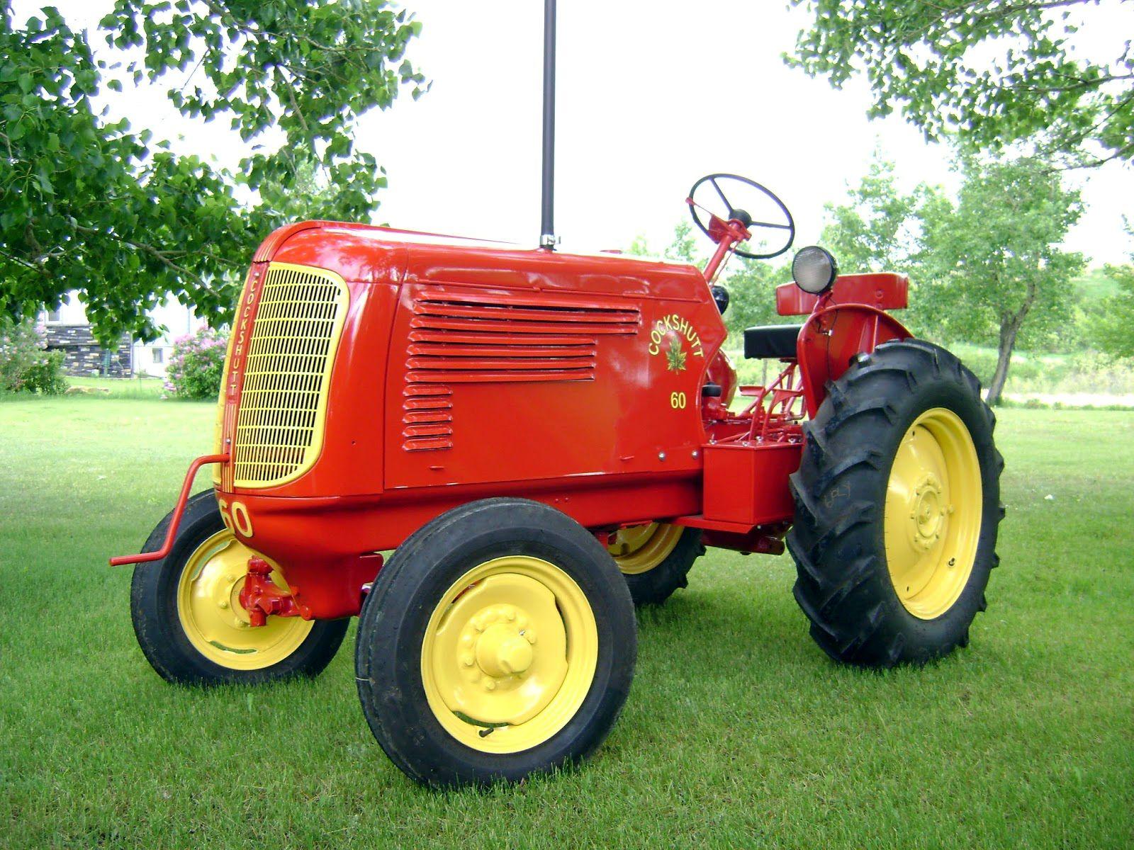 Cockshutt 60 classic tractor tractors old tractors