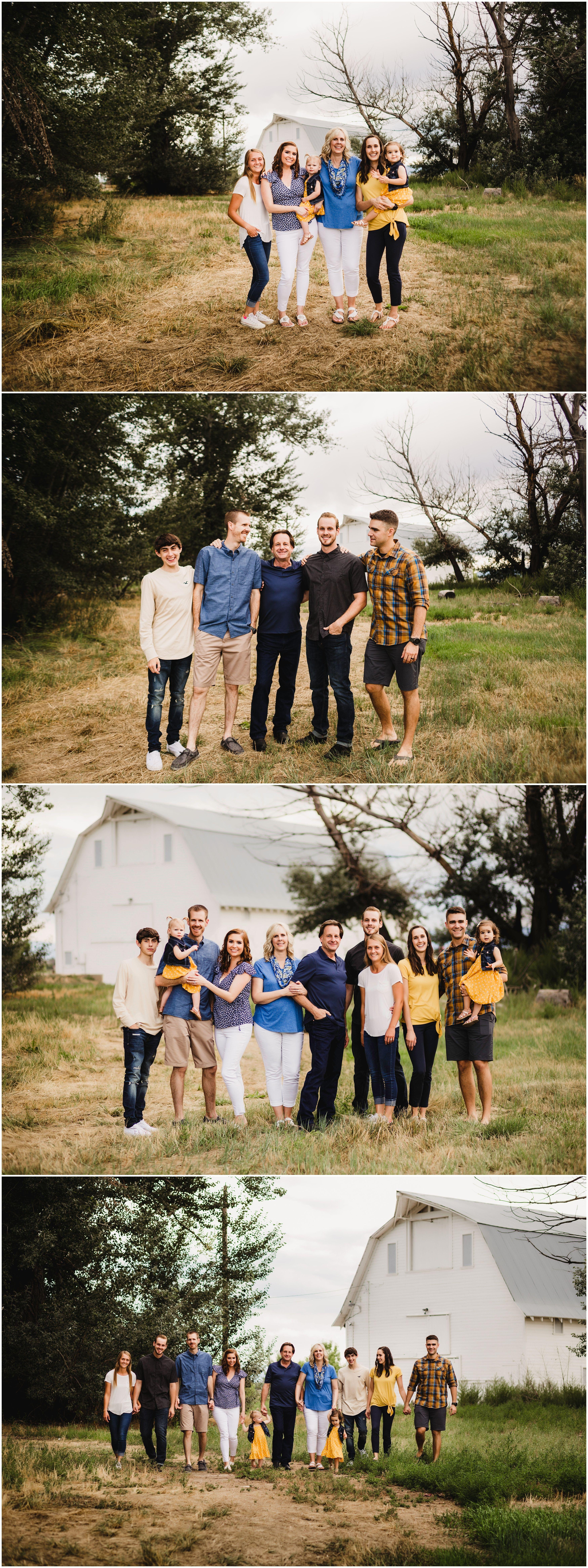 Colorado Photographer Family Photos #extendedfamilyphotography