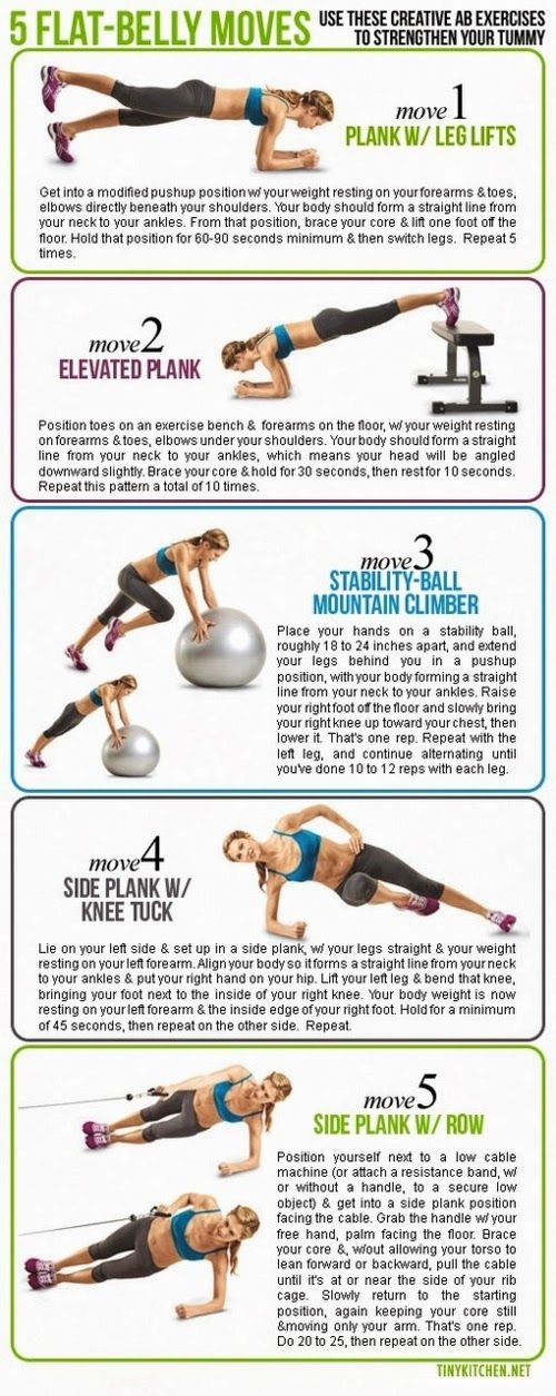 Health & nutrition tips: 5 flat belly moves | Workouts ...