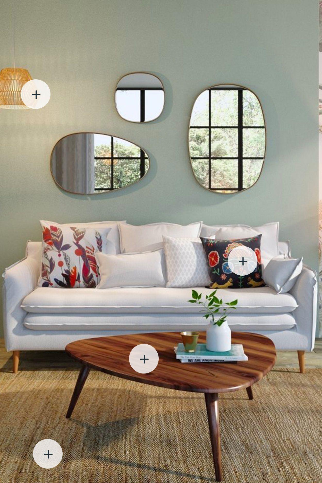 Changez de déco en 2 clics ! | Rustic living room, Living ...