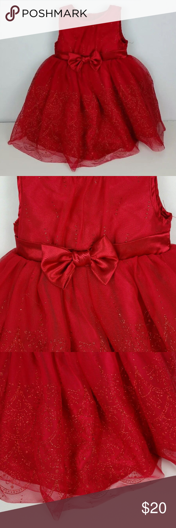 Toddler christmas sparkle holiday photos dress in my posh
