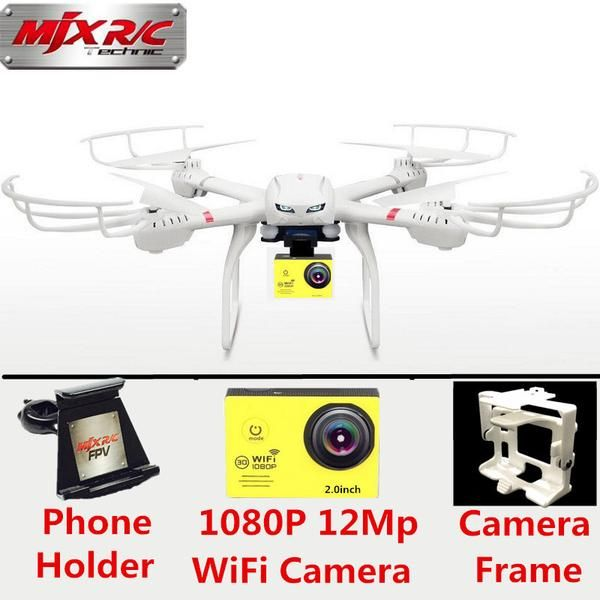 Drone Profissional MJX X101 Big Drone with 12MP Wifi FPV Real Time Camera Dron RC Quadcopter Remote Control Helicopter PK X8G X8