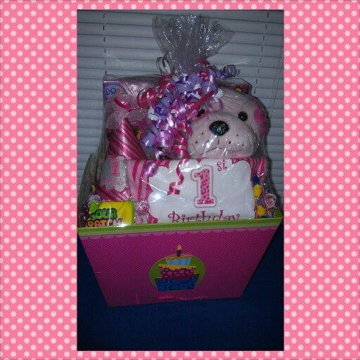 1st Birthday Gift Basket