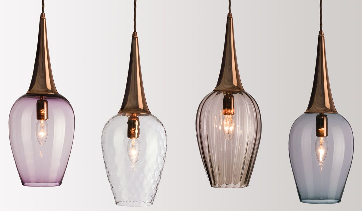 retro lighting. the retro light pays homage to 1951 festival of britain with a sleek form made in handblown glass and modernist streamlined spun copper top lighting