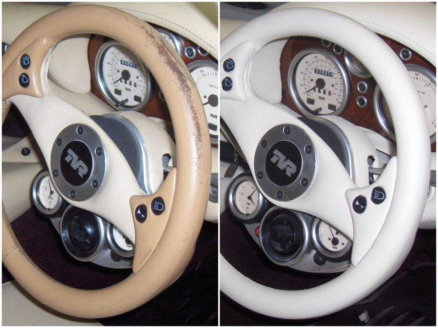 Is your leather steering wheel in need of some care and