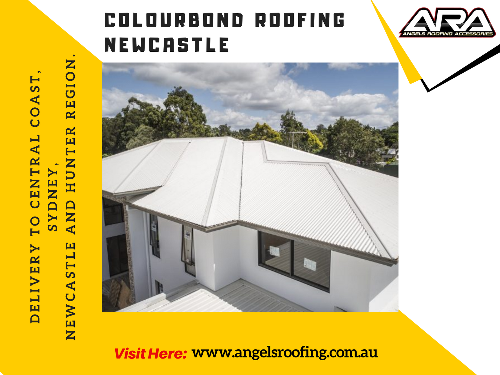 Colorbond Roofing Supplies In Newcastle Nsw In 2020 Roofing Roofing Supplies Roofing Services