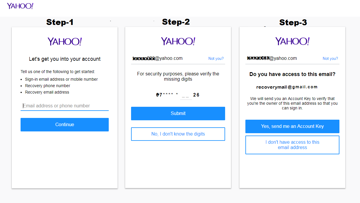 how to change my forgotten yahoo email password