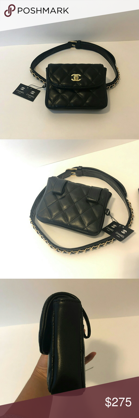 1dccdb544213 New Chanel VIP gift fanny pack belt bag Brand new Chanel VIP gift waist  fanny pack belt bag no hologram or card. Size 6.5