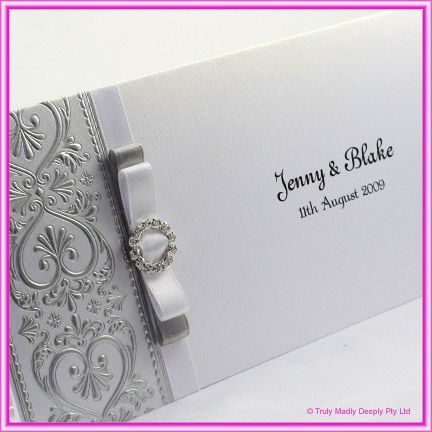 Silver Wedding Invitations By Way Of Using An Impressive Design Concept For Your Divine 16