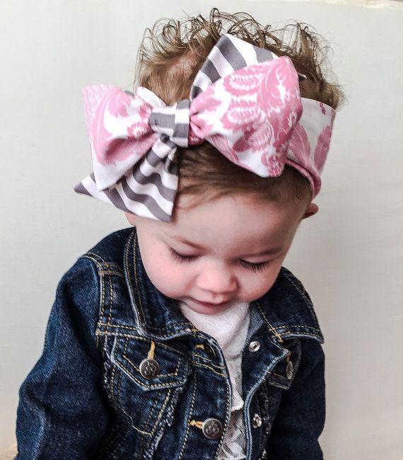 Baby Headbands Baby Bows Set Mini Bow Headbands Nylon Headband