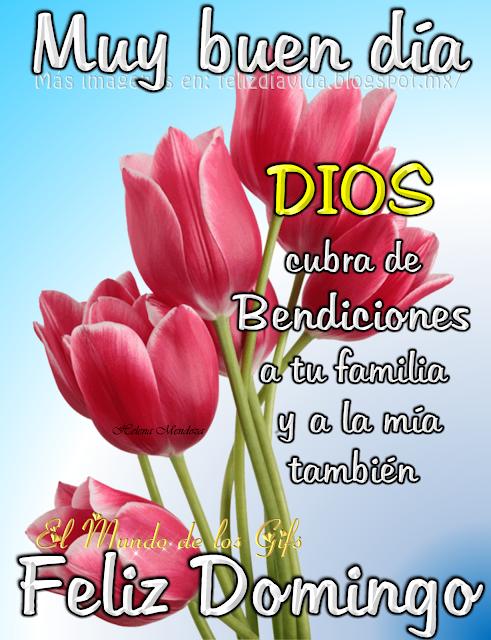 Muy Buen Dia Dios Cubra De Bendiciones A Tu Familia Y A La Mia