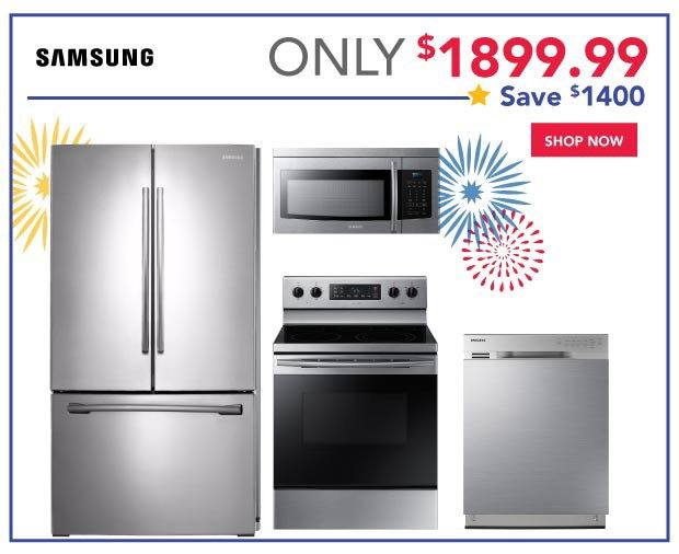 Samsung Kitchen Appliance Package On Sale Appliance Sale