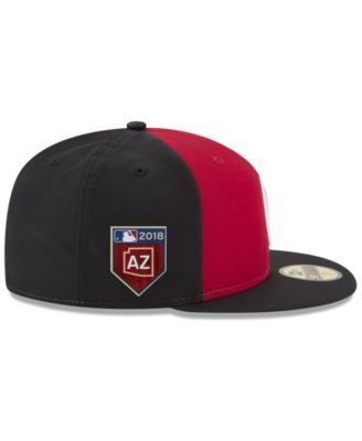 new product 0f83f 85621 New Era Cincinnati Reds Spring Training Pro Light 59Fifty Fitted Cap - Red  6 7 8