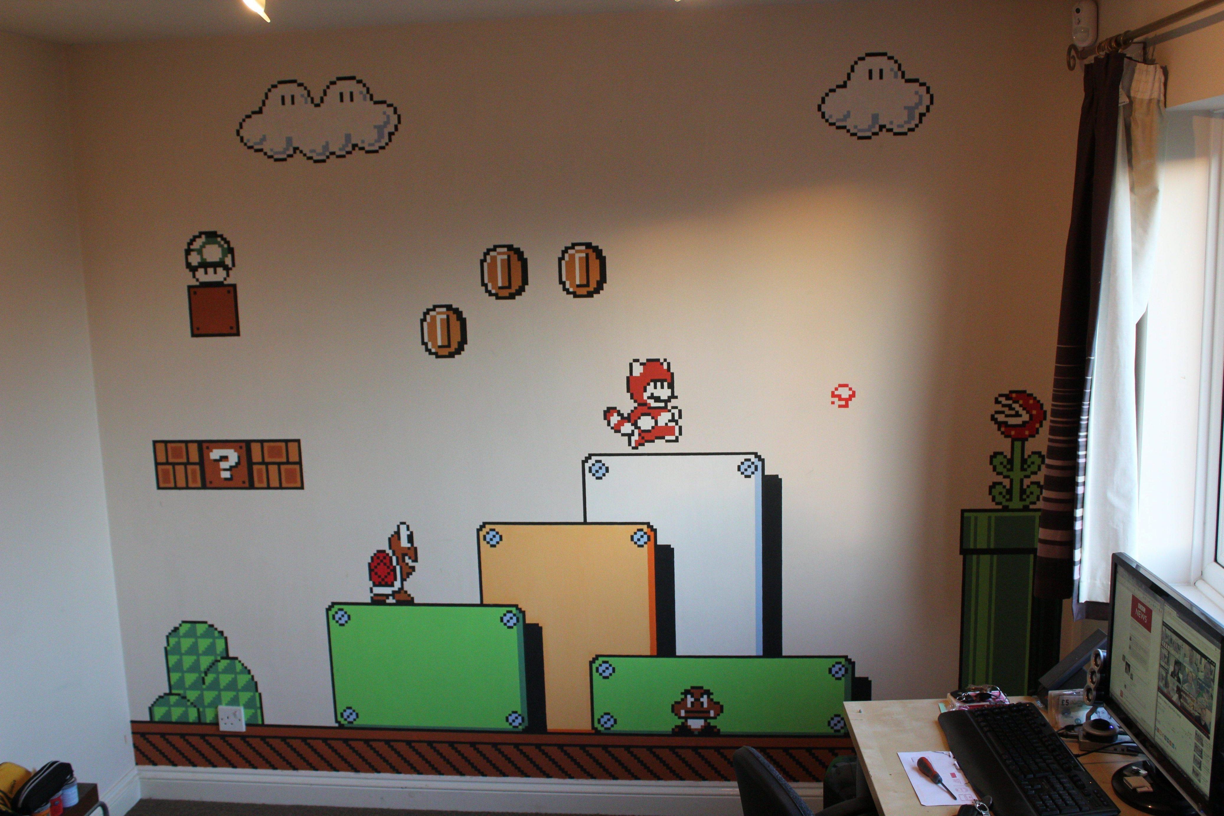 Supermariobros3 Art Via Reddit User Cbromley Wall