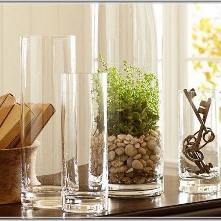 How To Decorate With Clear Glass Vases Of Decoration Large Glass
