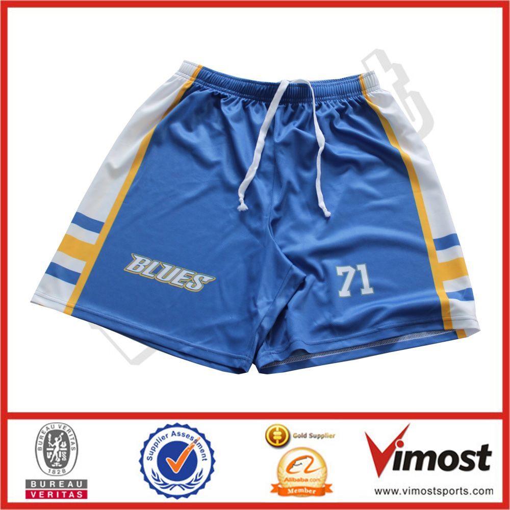 Top grade colorful custom sublimated basketball short