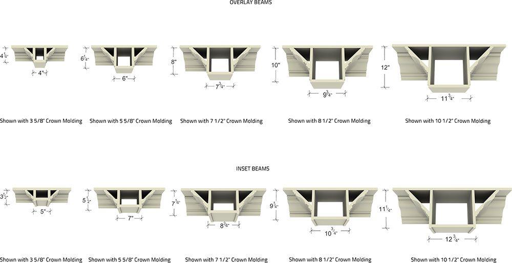 Brand new Coffered Ceiling Beam Sizes | www.lightneasy.net BI79